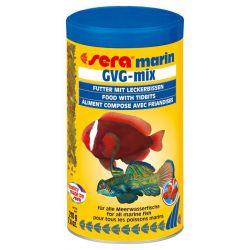 SERA marin GVG-mix – Хлопья с лакомыми кусочками для морских рыб 1000мл