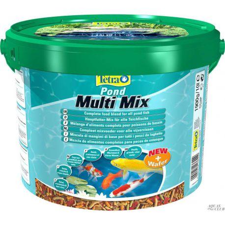 Tetra Pond Multi Mix – Смесь из нескольких сортов корма 10л