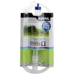 AQUAEL Gravel & Glass Cleaner S – Сифон для очистки дна аквариума 26 см