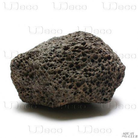 "UDeco Black Lava XS – Натуральный камень ""Лава чёрная"" 1 шт"