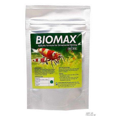 Genchem BIOMAX 2 – Основной корм для молодых креветок