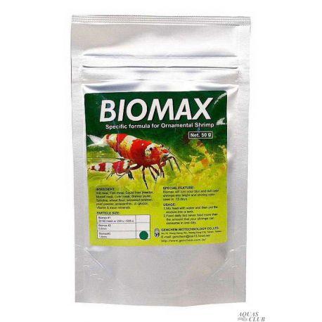 Genchem BIOMAX 3 – Основной корм для взрослых креветок