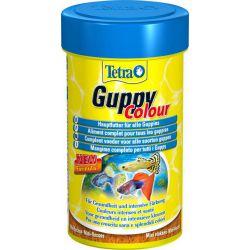 Tetra Guppy Colour 100 мл – Сбалансированный корм для всех видов гуппи