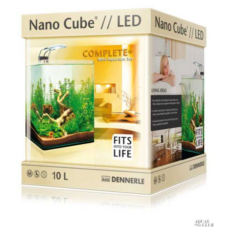 Dennerle Nano Cube Complete+ LED 10 л