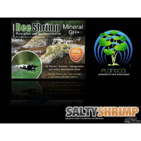 SaltyShrimp Bee Shrimp Mineral GH+