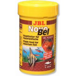JBL NovoBel 100 мл – Основной корм в форме хлопьев для всех аквариумных рыб