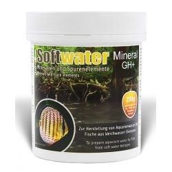 SaltyShrimp Softwater Mineral GH+ 230 г