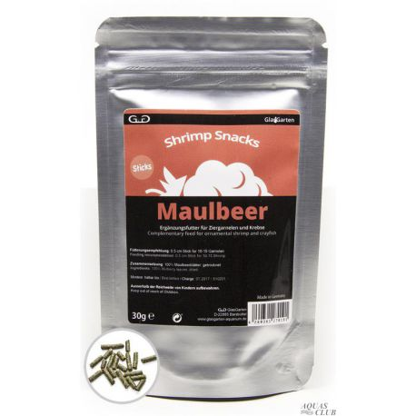 GlasGarten Shrimp Snacks Maulbeer 30 г