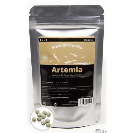 GlasGarten Shrimp Snacks Artemia 30 г
