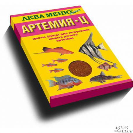 АКВА МЕНЮ – Артемия-Ц 35 г