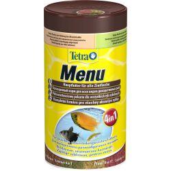 Tetra Menu 100 мл – Корм из 4-х видов хлопьев