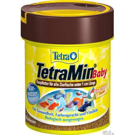 Tetra TetraMin Baby 66 мл – Основной корм для мальков, обогащенный протеином