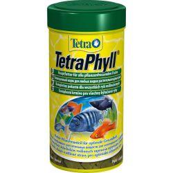 Tetra TetraPhyll 250 мл – Корм для травоядных рыб, хлопья