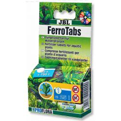 JBL FerroTabs 30 шт – Концентрированное удобрение в виде таблеток для растворения в воде
