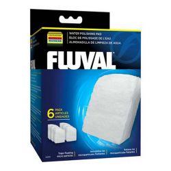 FLUVAL губка тонкой очистки для фильтров FLUVAL 304/305/306, 404/405/406 6 шт