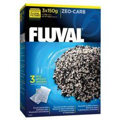 FLUVAL Zeo-Carb 3x150 г – Удалитель аммония с углем