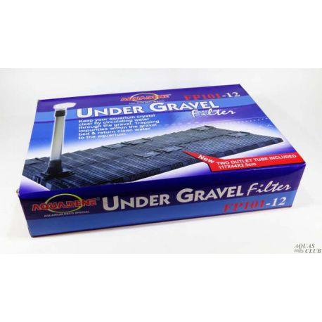 KW zone Under Gravel Filter FP 101-12 – Фильтр донный (фальшдно) 117x44х2.5 см