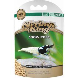 Dennerle Shrimp King Snow Pops 40 г – Основной корм премиум класса для креветок