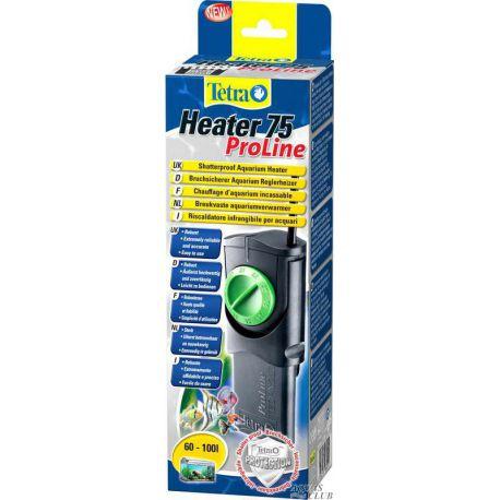 Tetra Heater 75 Proline – Нагреватель пластиковый автоматический 75 Вт