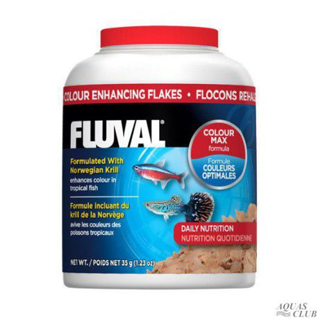 Корм для усиления окраса рыб Fluval – хлопья 200мл