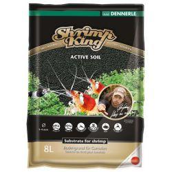 Dennerle Shrimp King Active Soil 8 л – Активный грунт для аквариумов с креветками