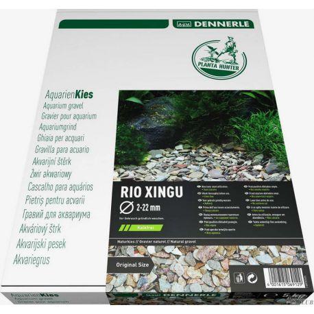 Dennerle Nature Gravel PlantaHunter Rio Xingu MIX 5 кг, 2-22 мм