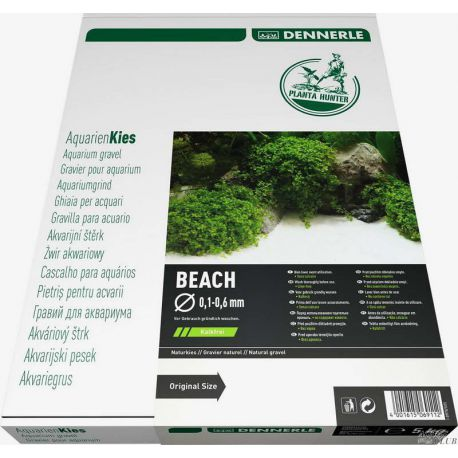 Dennerle Nature Gravel PlantaHunter Beach 5 кг, 0,1-0,6 мм