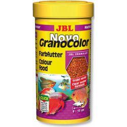 JBL NovoGranoColor 250 мл – Корм в гранулах для усиления окраски
