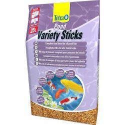 Tetra Pond Variety Sticks 25 л – Смесь из трех различных видов палочек для прудовых рыб