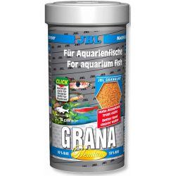 JBL Grana 250 мл – Основной корм в гранулах премиум-класса для мелких рыб