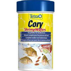 Tetra Cory Shrimp Wafers 100 мл – Высококачественный корм для плекостомусов и коридорасов