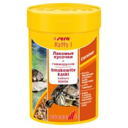 SERA Raffy I 100 мл – Деликатесный корм для плотоядных рептилий