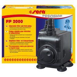 SERA FP 2000 – Помпа подачи воды 43 Вт, 2000 л/ч, 3,0 м