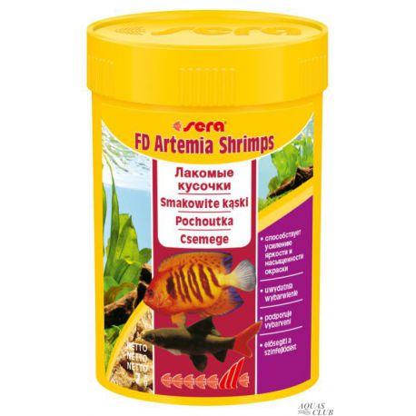 SERA FD Artemia Shrimps 100 мл