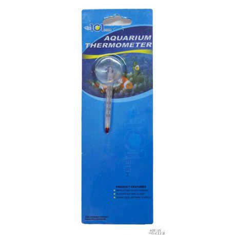 Термометр AQUA-PRO стеклянный малый на присоске 6x0,5 см