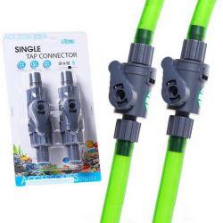 ISTA Single Tap Connector 12/16 мм – Кран одинарный, 2 шт