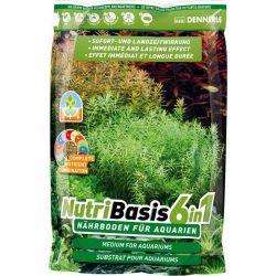 Dennerle NutriBasis 6in1 2,4 кг – Грунтовая подкормка для аквариумных растений