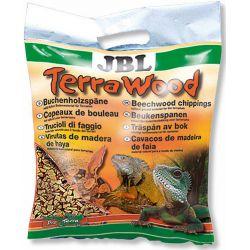 JBL TerraWood 5 л – Буковая щепа, натуральный субстрат