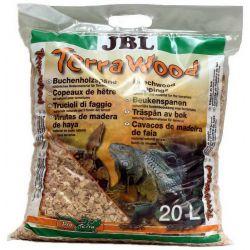 JBL TerraWood 20 л – Буковая щепа, натуральный субстрат