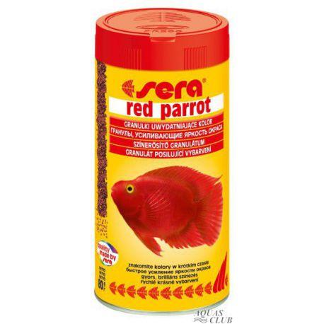 SERA red parrot – Корм для рыб-попугаев 250 мл (80 г)