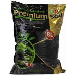 ISTA Substrate Premium Soil 1,5-3,5 мм, 8 л – Грунт питательный, для растений и креветок
