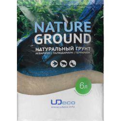 "UDeco River Amber 0,1-0,6 мм, 6 л – Натуральный грунт ""Янтарный песок"""