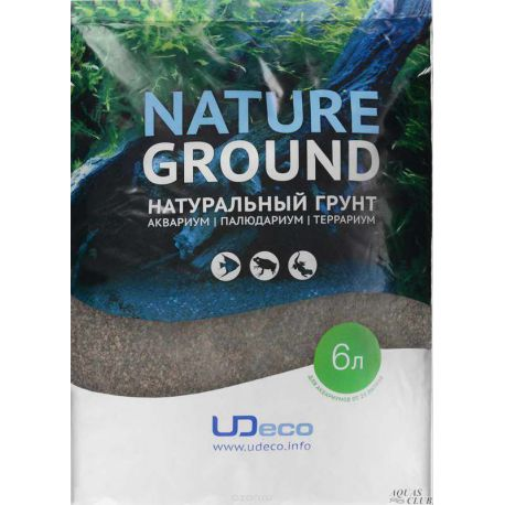 """UDeco River Brown 0,6-2,5 мм, 6 л – """"Коричневый песок"""""""
