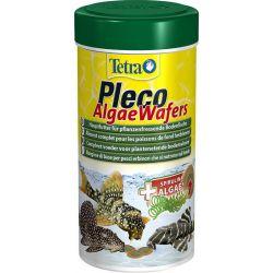 Tetra Pleco Algae Wafers 250 мл – Растительный корм премиум-класса для донных рыб