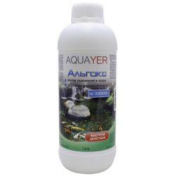 AQUAYER Альгокс – Средство против зеленых водорослей в прудах 1 л