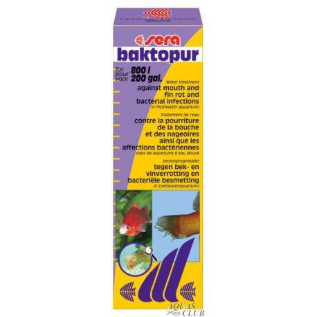 SERA baktopur – Средство против бактериальных поражений 50 мл на 800 л