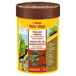 SERA Wels-Chips 100 мл – Чипсы для сомиков (38 г)