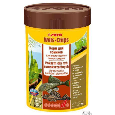 SERA Wels-Chips 100 мл (38 г)