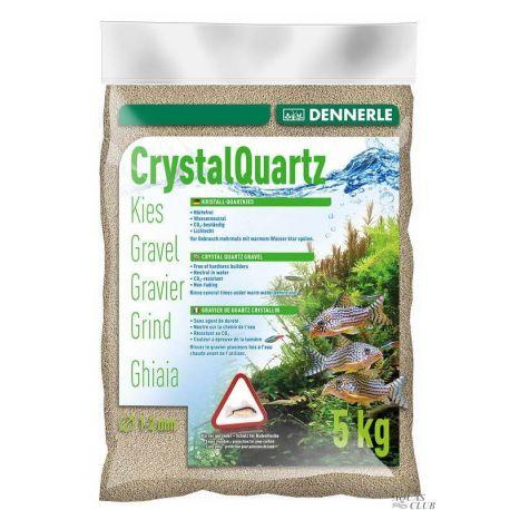 Dennerle Crystal Quartz Gravel Natural White 5 кг