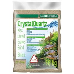 Dennerle Crystal Quartz Gravel Natural White 10 кг 1-2 мм природный белый